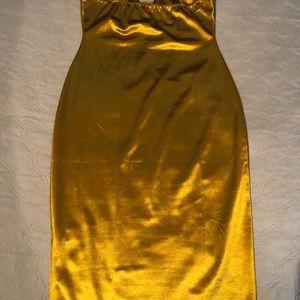 Evening mid length dress